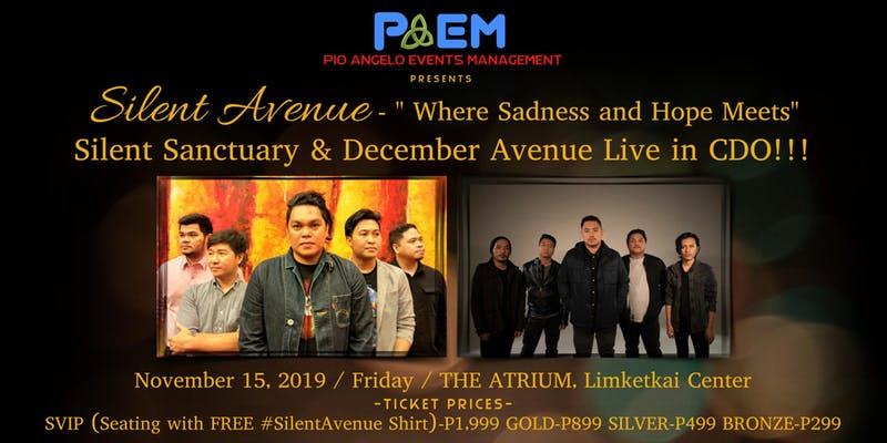 Silent Avenue - Silent Sanctuary and December Avenue Live in CDO