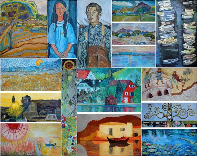 Το Α ́ Δημοτικό Σχολείο Ηγουμενίτσας συναντιέται με τις καλλιτεχνικές δημιουργίες μεγάλων Ελλήνων και ξένων ζωγράφων