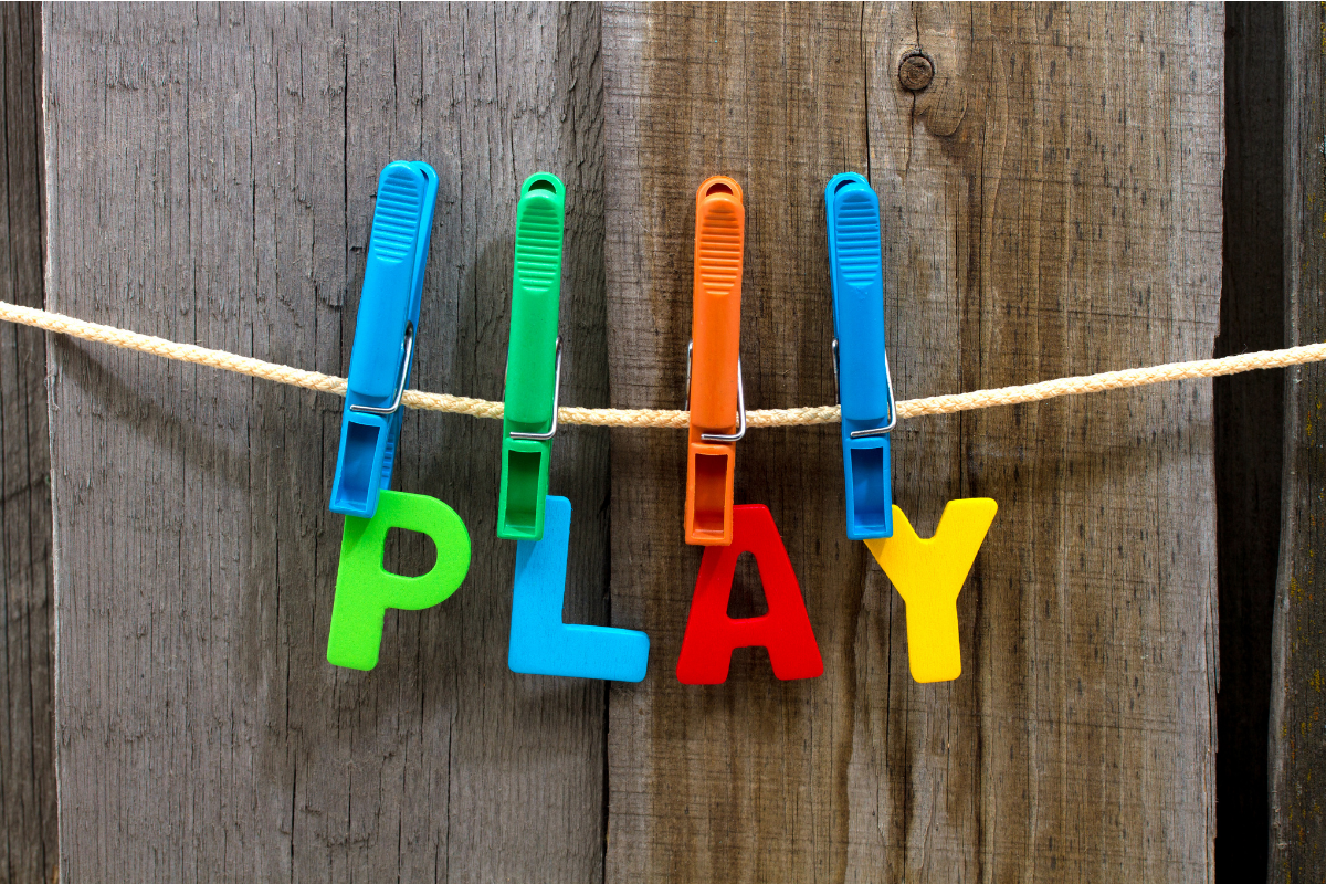 Great ideas for playing with preschoolers while working on language skills