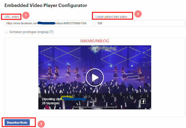 Cara Memasang Video Facebook ke Blog Supaya SEO