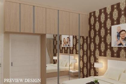 Preview design wardrobe interior kamar tidur