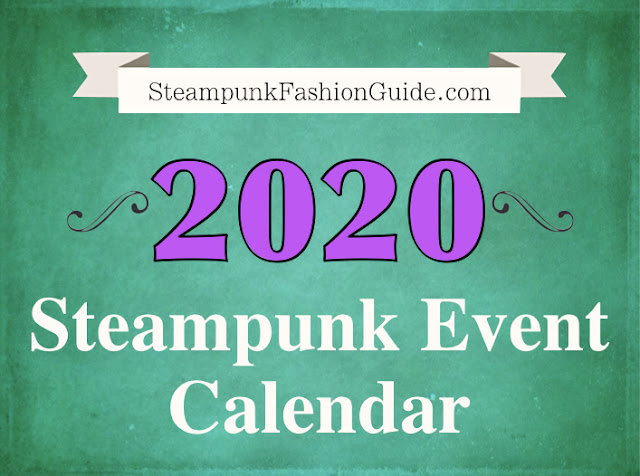 2020 Steampunk Events Worldwide - Calendar