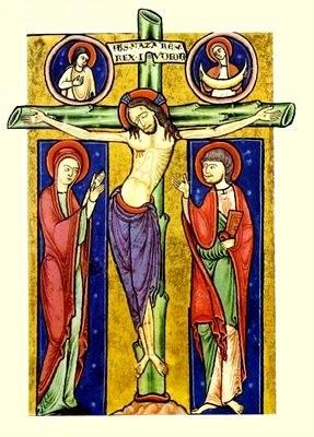 Imagen de Jesús hecho por un pintor a color