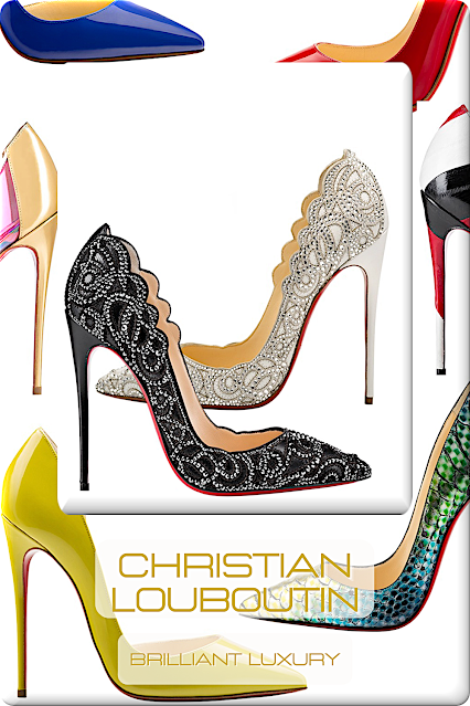 ♦Christian Louboutin Shoe Collection #shoes #christianlouboutin #louboutinworld #pumps #brilliantluxury