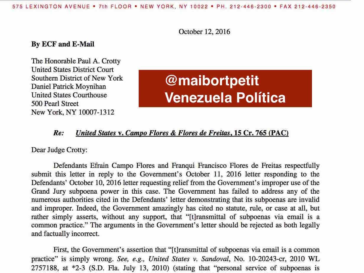 Venezuela Política : Desesperados, Sobrinos de Cilia Flores piden ...