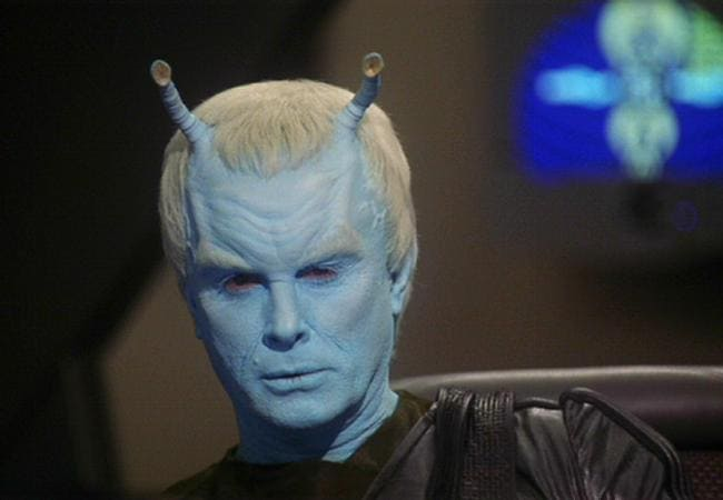 Jeffrey Combs encarna al andoriano Shran en Star Trek: Enterprise