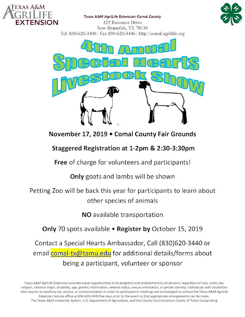 Comal County 4-H Online News