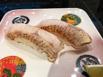 金沢まいもん寿司ののどぐろ(炙り)