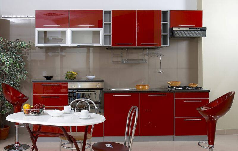 20 extremely hot red kitchen cabinets - decor units