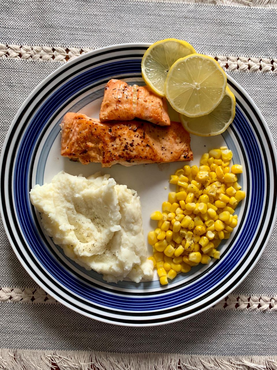 Pan Seared Lemon Pepper Salmon #recipe
