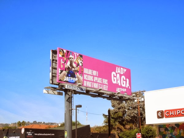 Lady Gaga Artpop billboard
