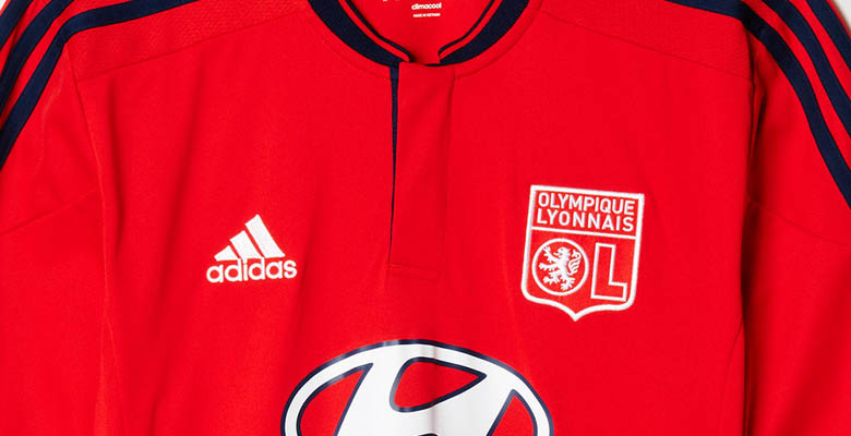 new product e4855 2c71c Lyon 15-16 Home and Away Kits Revealed - Footy Headlines
