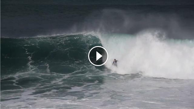 Surfing Roka Puta Rockies - Epsilon Warm Up Session October 27th 2020