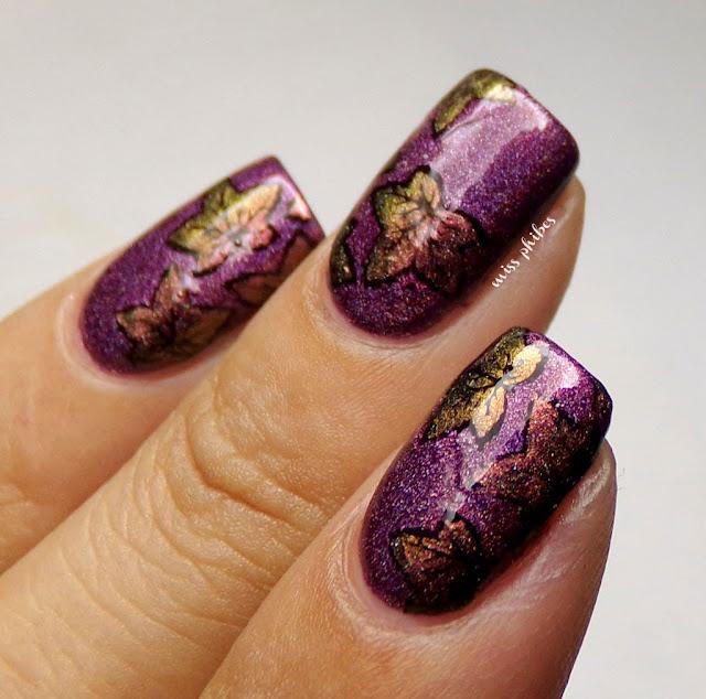 Nail art otoño autumn