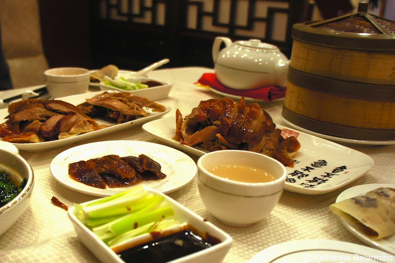 Peking Duck 北京烤鸭 at Quanjude Beijing China