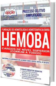 Apostila Concurso Hemoba 2018 Cargos de Nível Superior