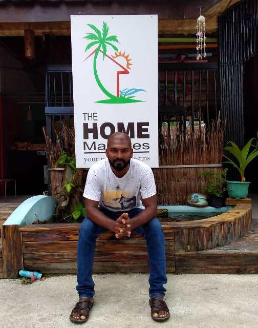 Billie, el propietario de The Home Maldives