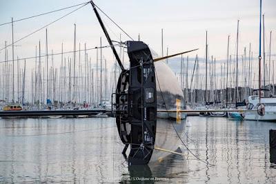 L'Occitane, l'IMOCA d'Armel Tripon, passe les tests de jauge