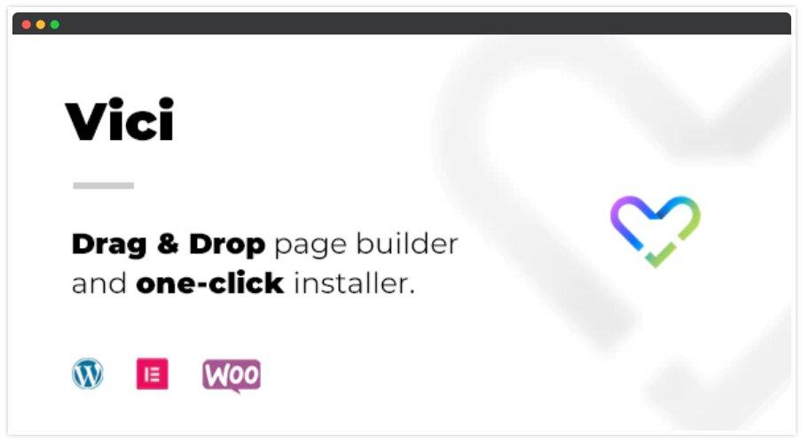 Vici Wordpress Woocommerce Theme with (Hyperfocused)
