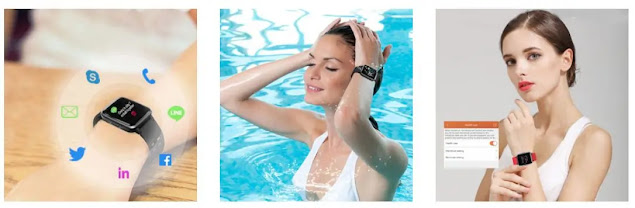 YAMAY IP68 Smart Watch for Android and iOS review
