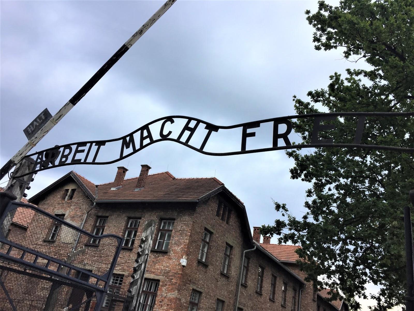Koncentračný tábor Osvienčim Poľsko