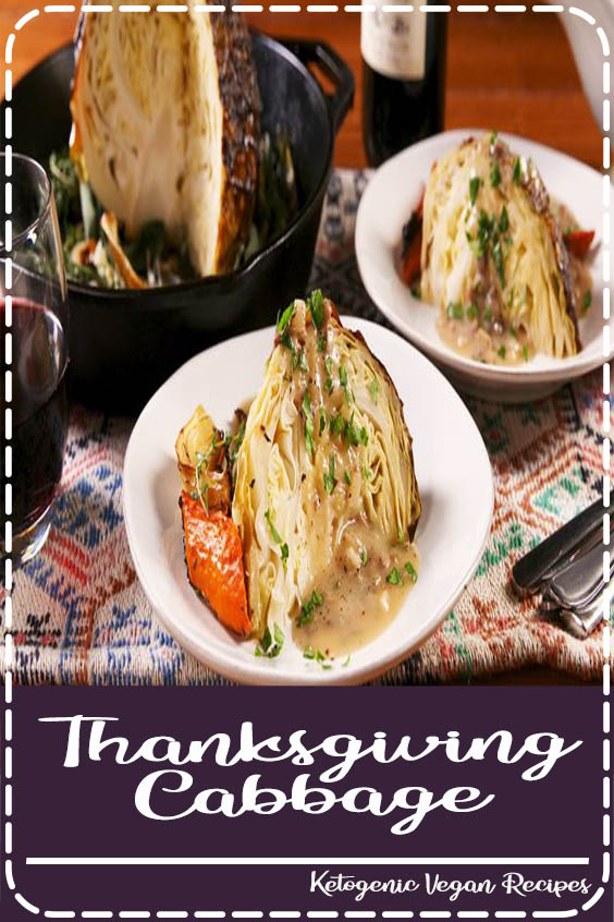 com is perfect for your vegetarian friends and family Thanksgiving Cabbage