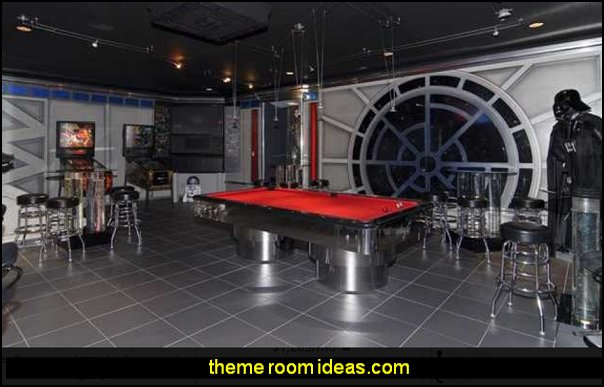 star wars man cave decorating ideas