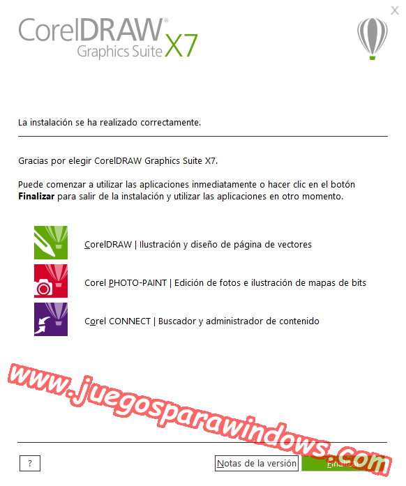CorelDRAW Graphics Suite X7.3 ESPAÑOL Software De Diseño Gráfico Completo (XFORCE) 4