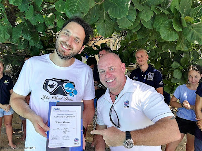 Testimonial by Fabien Zennaro of the April 2018 PADI IDC on Koh Lanta, Thailand