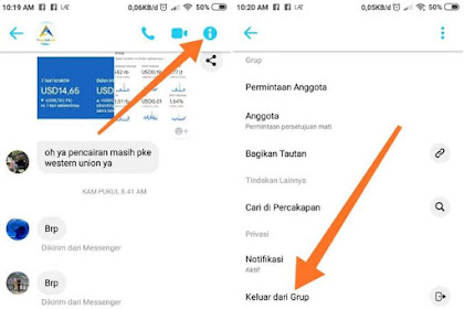 Cara Keluar Group Obrolan di Facebook Messenger