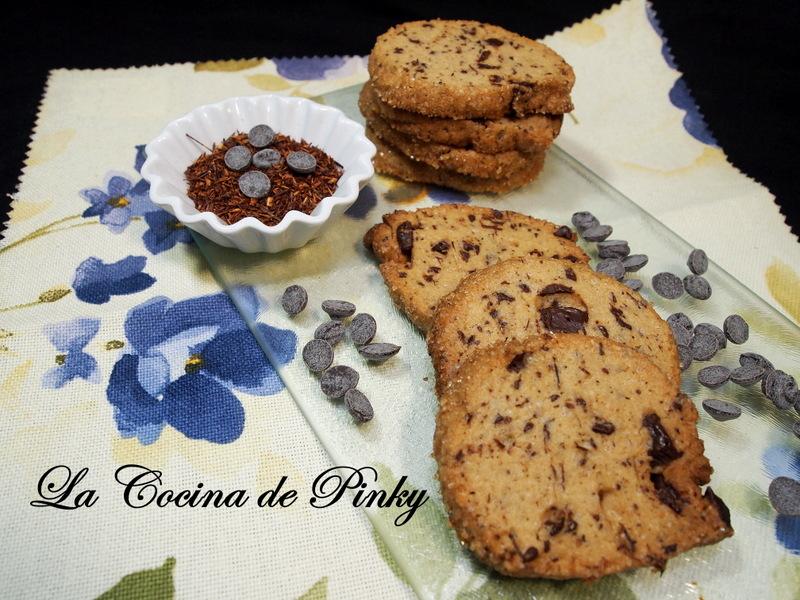 Galletas De Rooibos Y Chocolate
