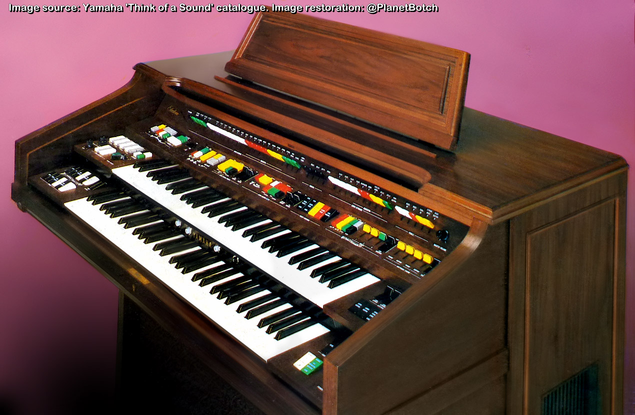 Yamaha home organ