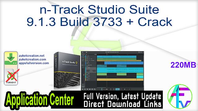 n-Track Studio Suite 9.1.3 Build 3733 + Crack