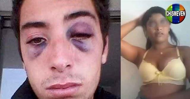 Honradas trabajadoras venezolanas golpean a un colombiano por no pagarle sus servicios