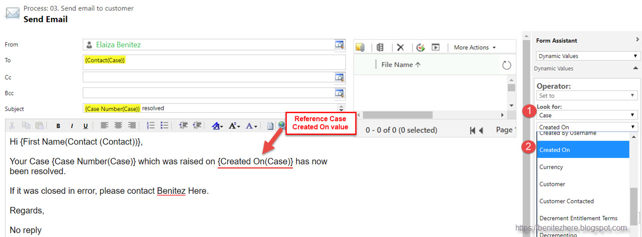 How to display a date field value correctly in an email in Flow
