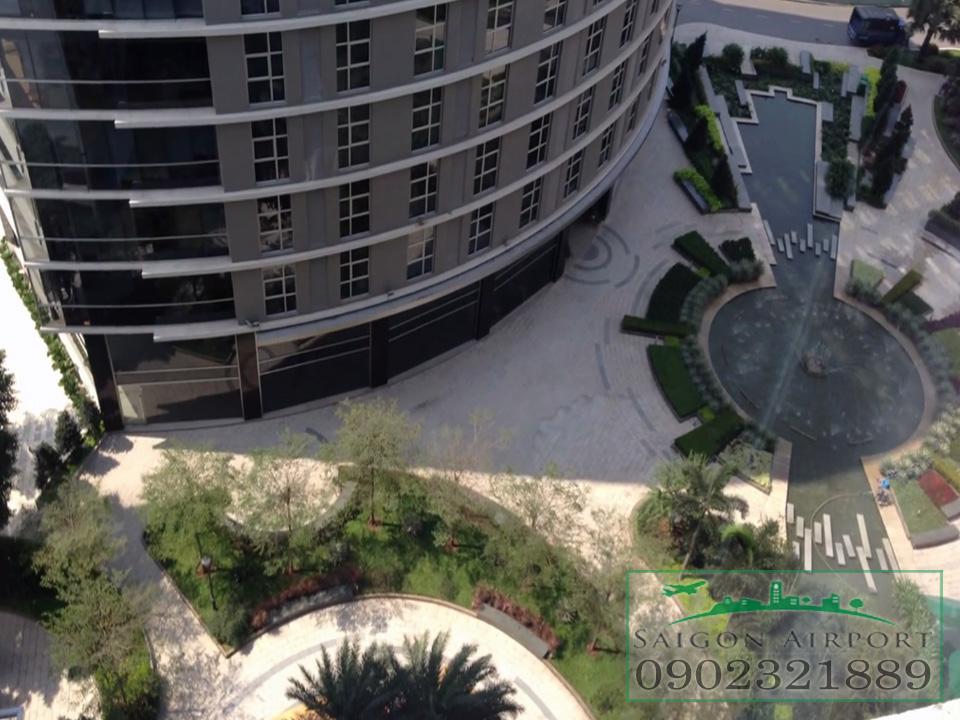 bán chung cư sài gòn airport plaza - view công viên nhạc nước