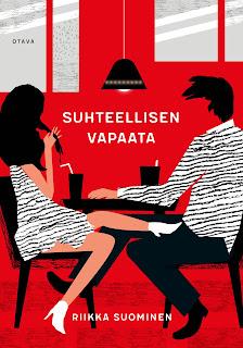 Riikka Suominen - Suhteellisen vapaata -kirjan kansi