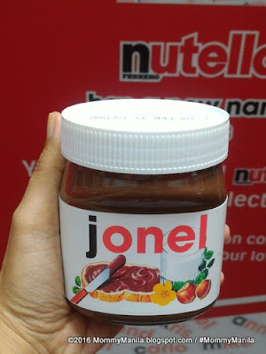 How To Get Your Personalized Nutella Jar