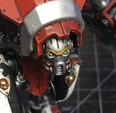 WIP House Taranis Armiger Warglaive Head and Face