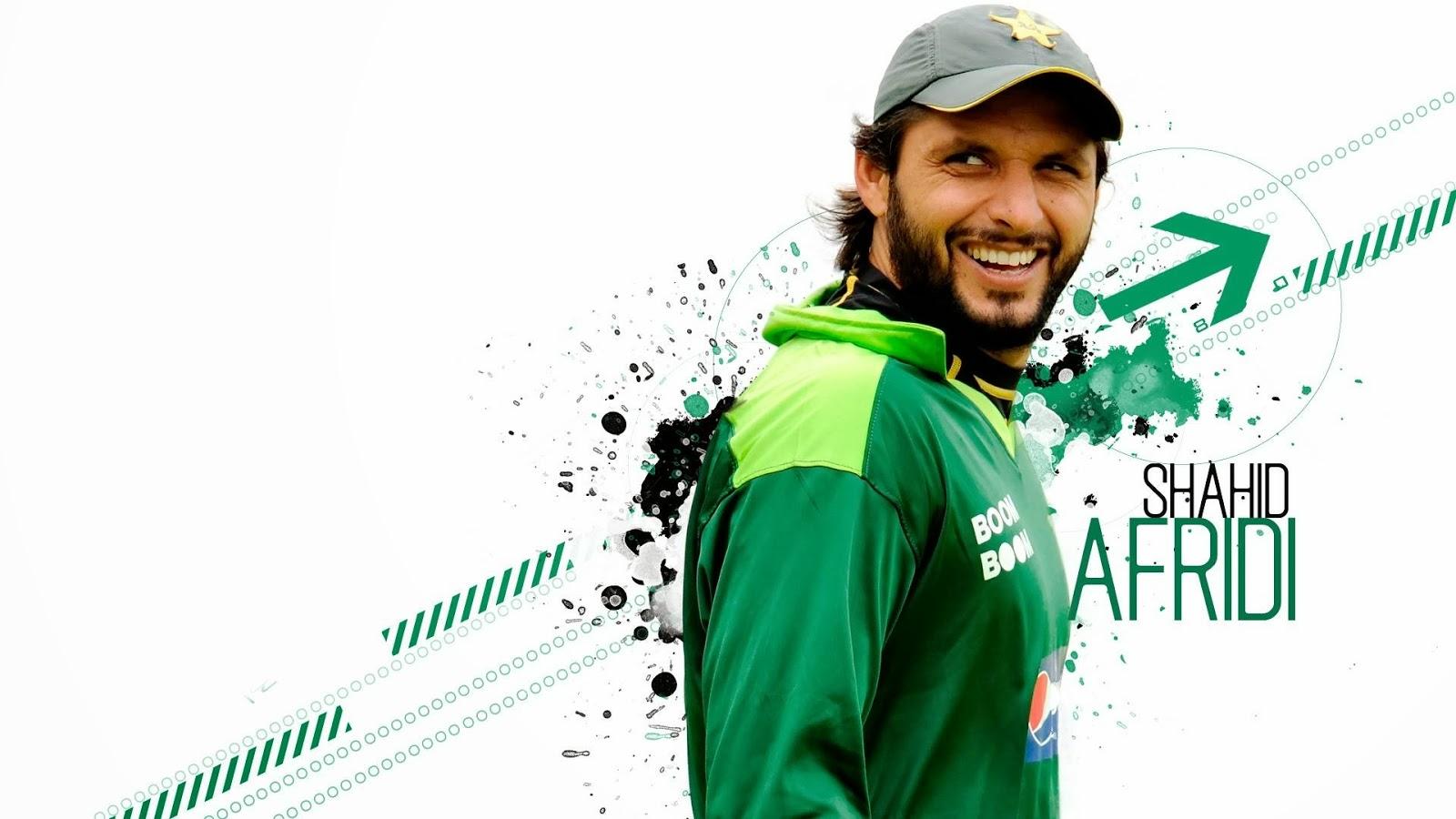 Sports Men Hub: Shahid Afridi Wallpapers In Pakistan's