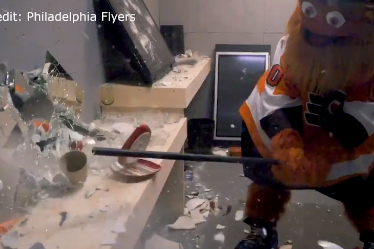 The Flyers Offer Fans A Rage Room