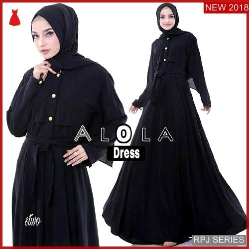 RPJ201D101 Model Dress Alola Cantik Dress Wanita