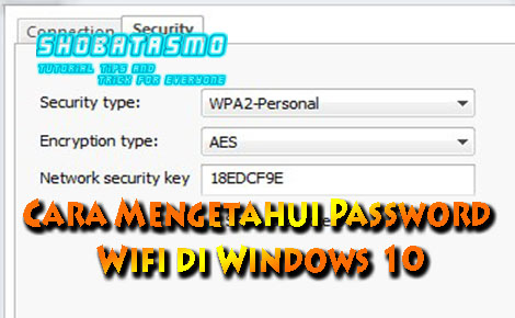 Cara Mengetahui Password Wifi di Windows 10