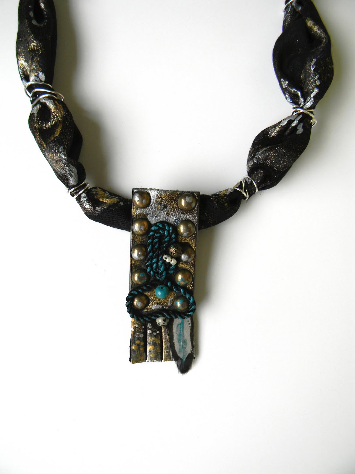 """Caecilia in Rome"" Necklace SOLD OUT"