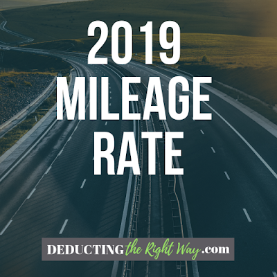 Small business mileage reimbursement | www.deductingtherightway.com