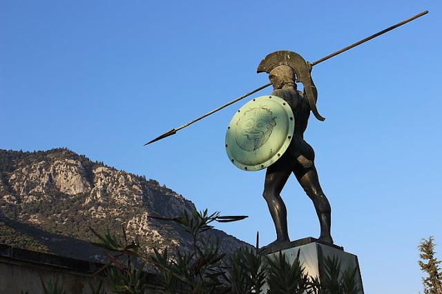 Estatua de espartano