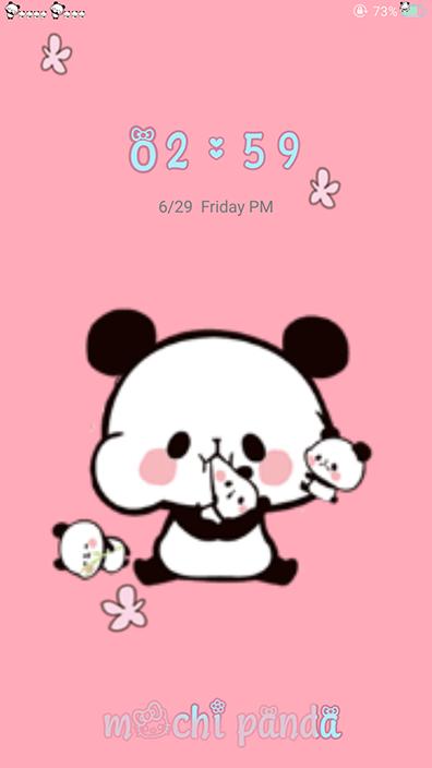 Oppo Theme: Oppo Mochi Panda Theme