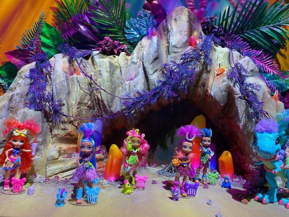 Куклы Cave Club Dolls новые игрушки Mattel 2020 года для девочек