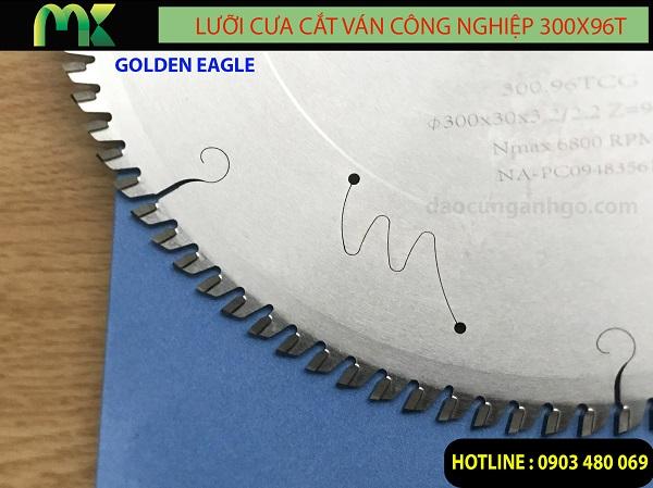 Lưỡi cưa cắt ván công nghiệp MDF GOLDEN EAGLE TAIWAN 300x96T