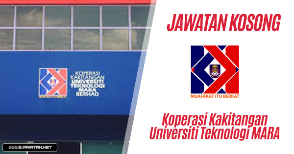 jawatan kosong Koperasi Kakitangan Universiti Teknologi MARA (KOOP) 2019